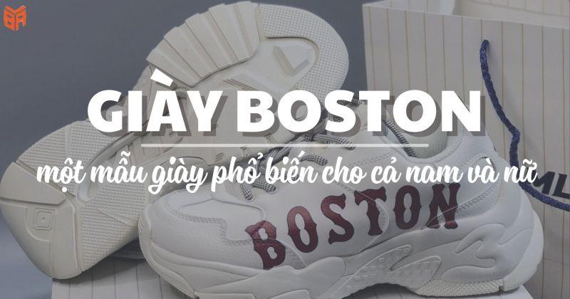 Giày MLB Boston Rep 1:1 rẻ nhất
