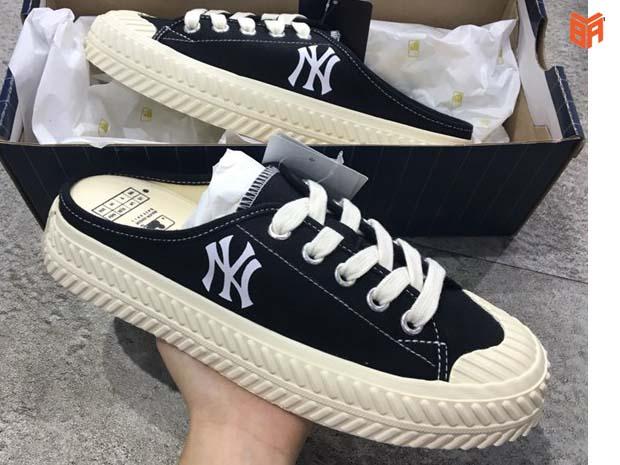 Chọn đúng loại hàng của đôi giày MLB hở gót