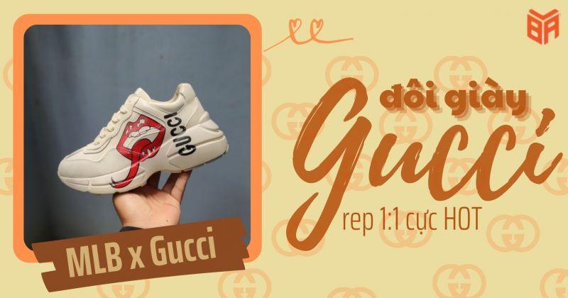 Đôi giày MLB Gucci Rep 1:1 cực HOT