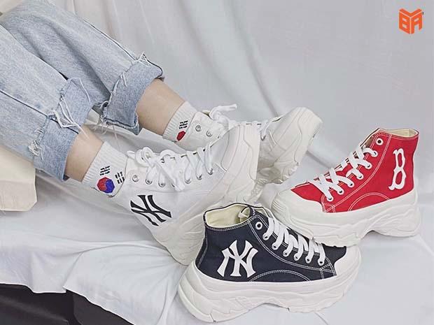 Mẫu giày MLB cổ cao