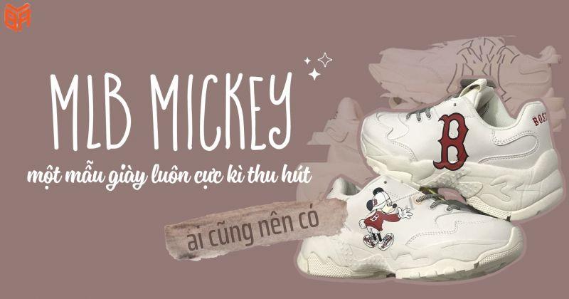 Mẫu giày MLB Mickey