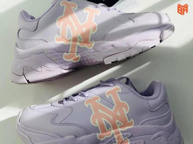 Giày MLB NY Chunky Màu Tím