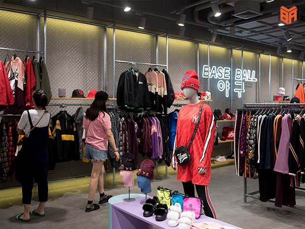 Cửa hàng MLB ở Hàn Quốc