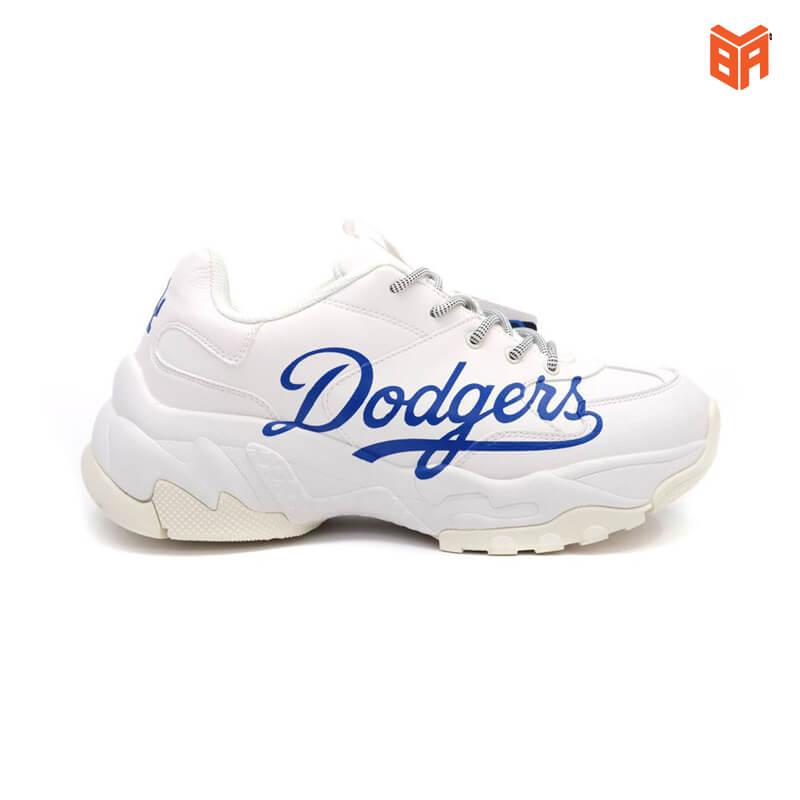 Giày MLB Dodgers Big Ball Chunky Trắng Xanh (Rep+)