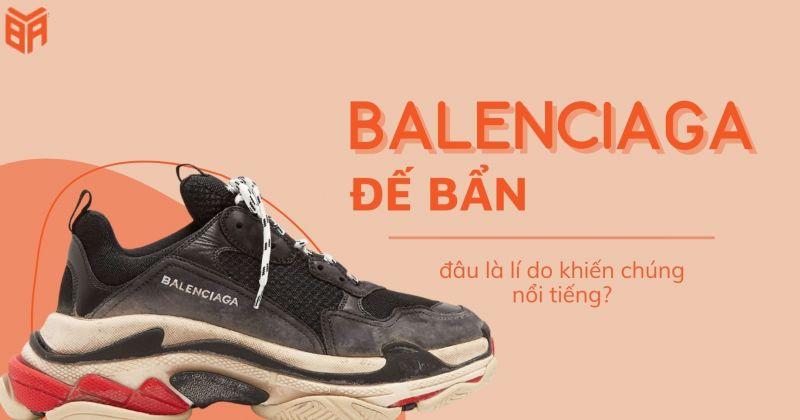 Đôi giày đế bẩn đến từ hãng Balenciaga