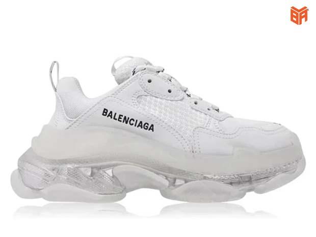 Balenciaga trắng đế Air