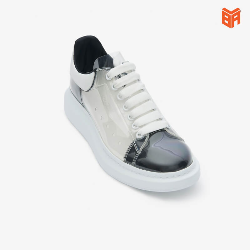 giày mcqueen trong suốt