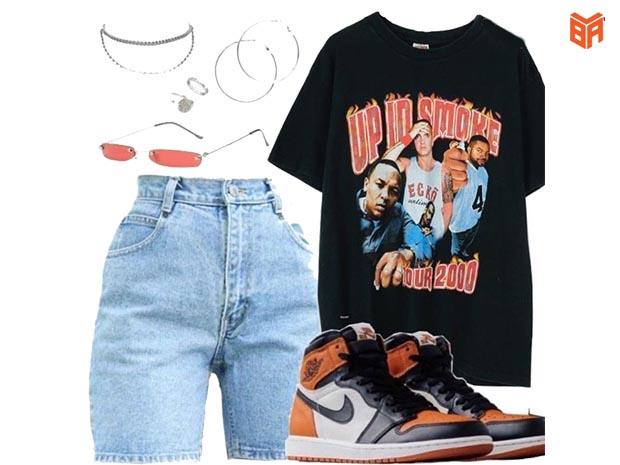 Cách phối đồ với giày Jordan cam