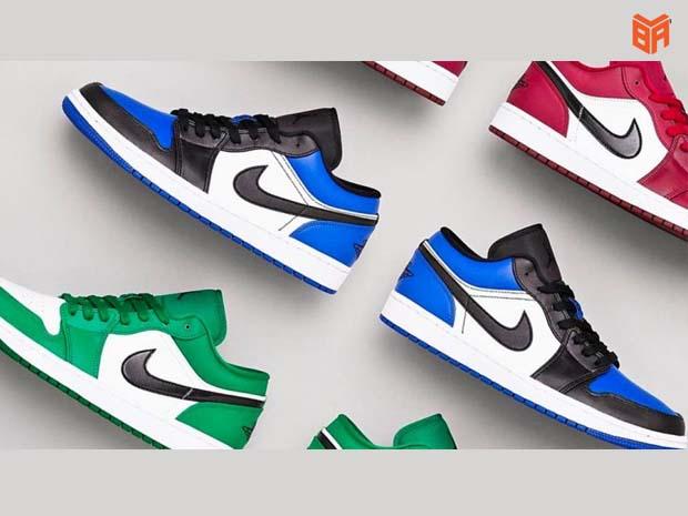 Mẫu giày Jordan thấp cổ