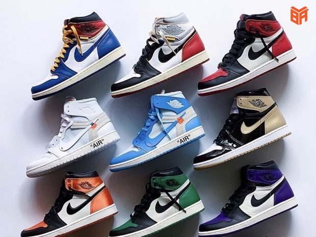 Mẫu giày Nike Jordan 1