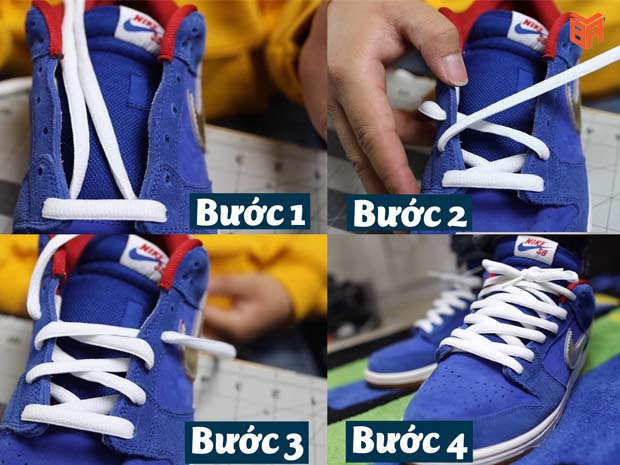 Cách thắt dây giày độc đáo cho đôi SB Dunk