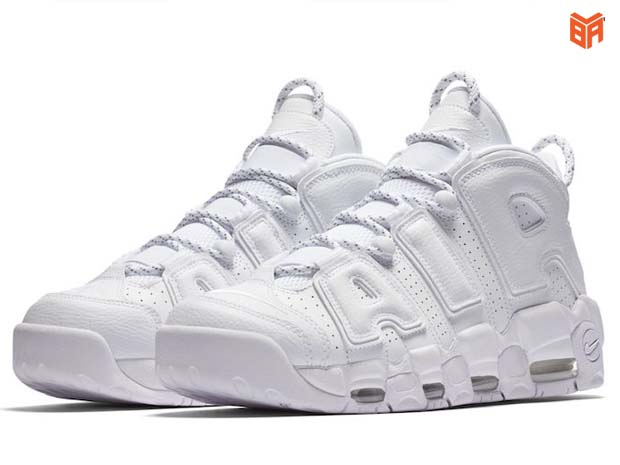 Air More Uptempo White/Trắng Full[