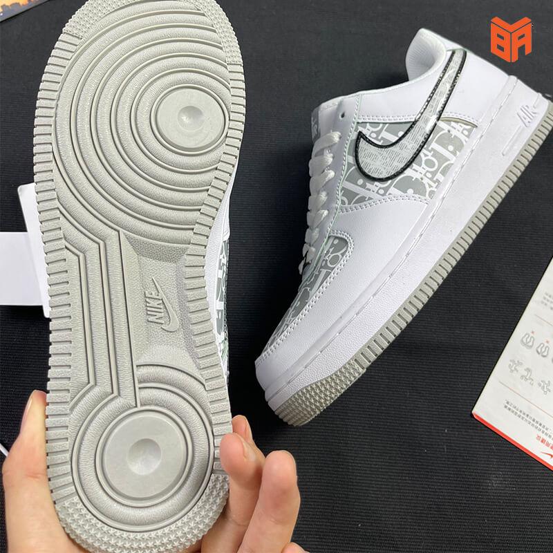 Nike Air Force 1 Dior Đế Xám - Đế
