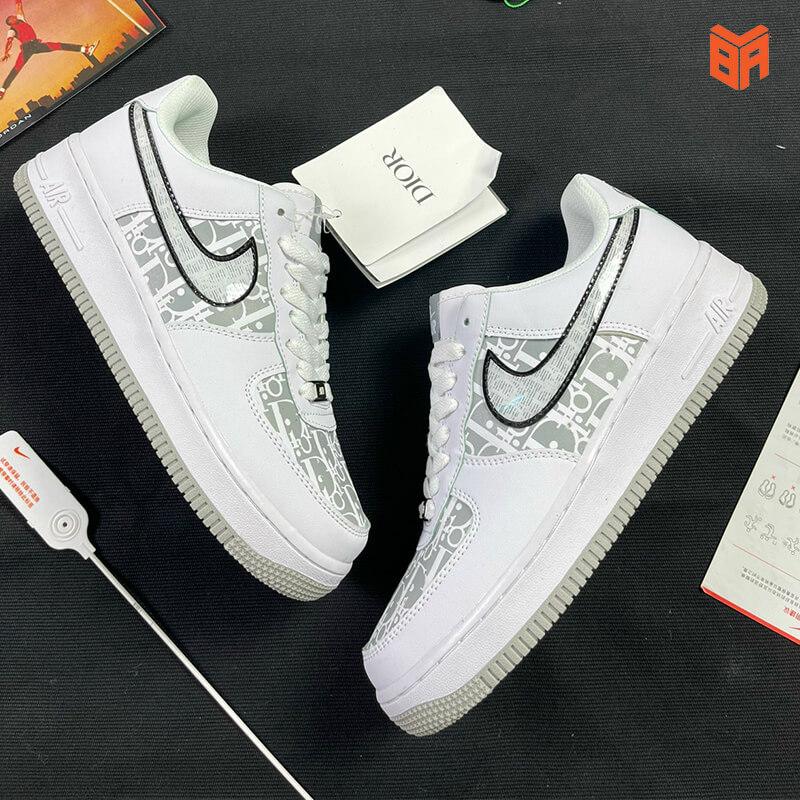 Nike Air Force 1 Dior Đế Xám