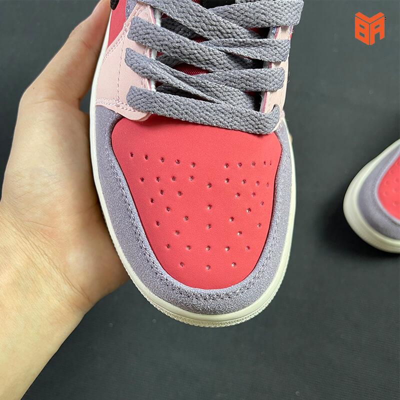 Nike Air Jordan 1 Low Canyon Rust - Mũi