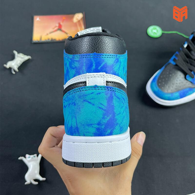 Nike Jordan 1 Loang Xanh - Gót