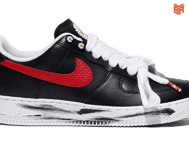 Buộc dây giày Nike Air Force 1 kiểu mũi giày