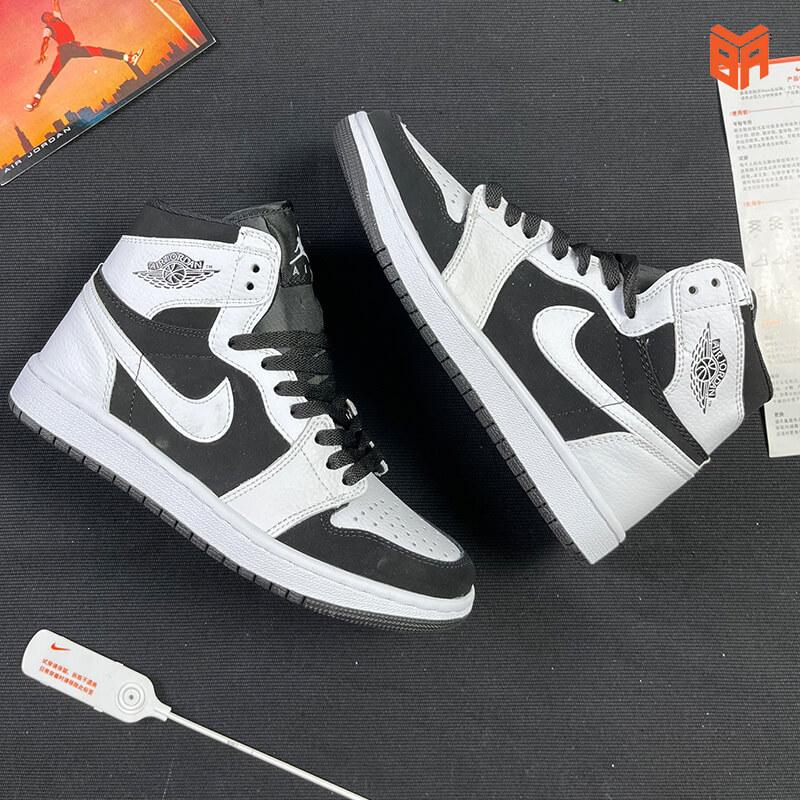 Nike Jordan 1 High Trắng Đen