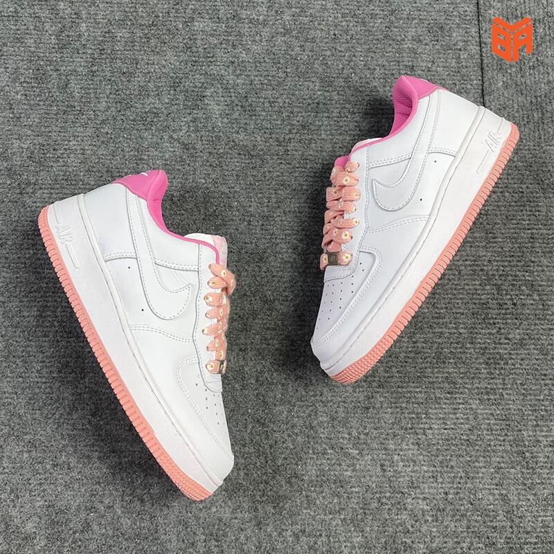 Nike Air Force 1 Hoa Cúc Hồng