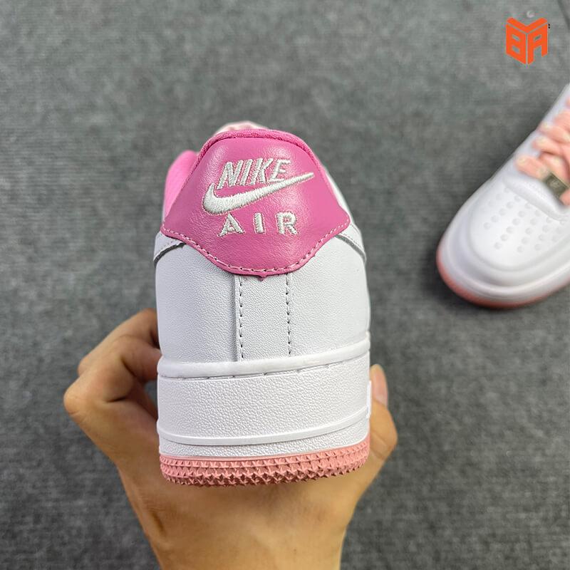 Nike Air Force 1 Hoa Cúc Hồng - Gót
