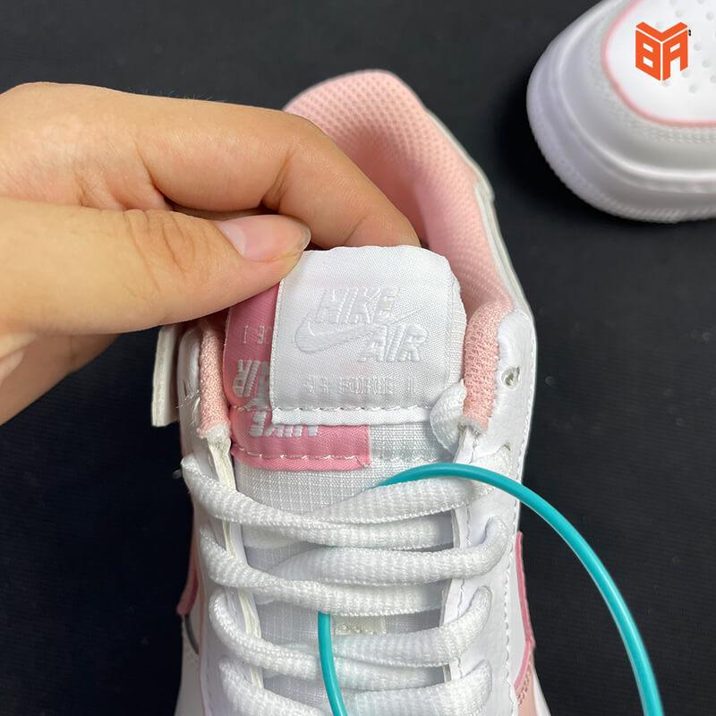 Nike Air Force 1 Shadow Trắng Hồng - Mác