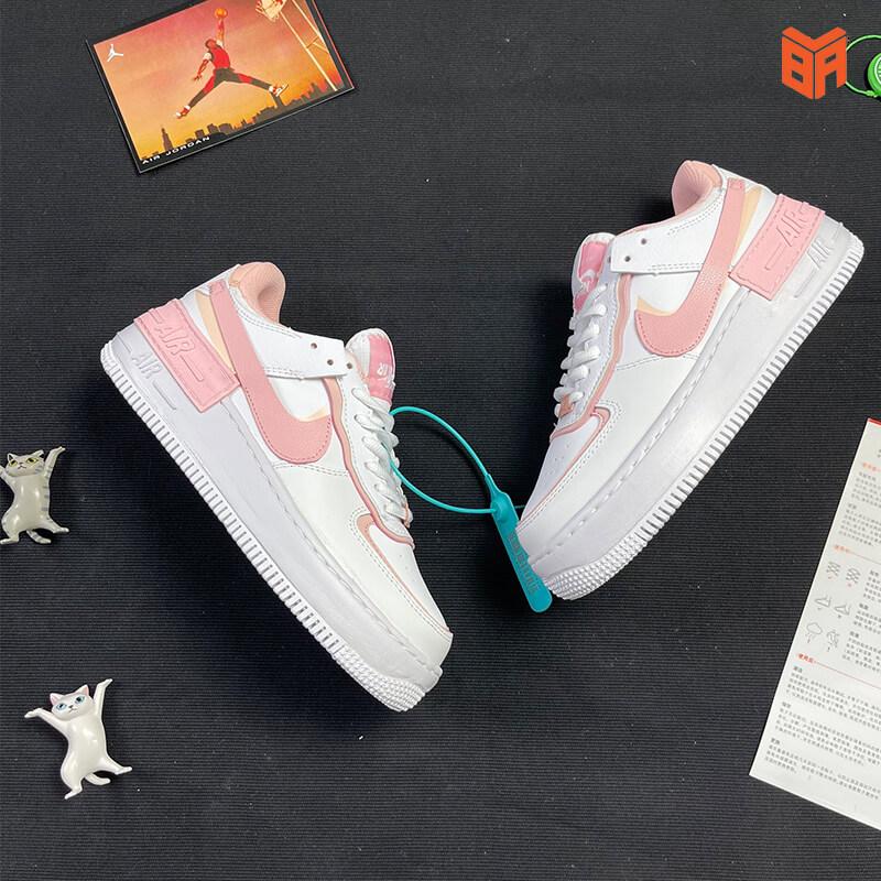 Nike Air Force 1 Shadow Trắng Hồng