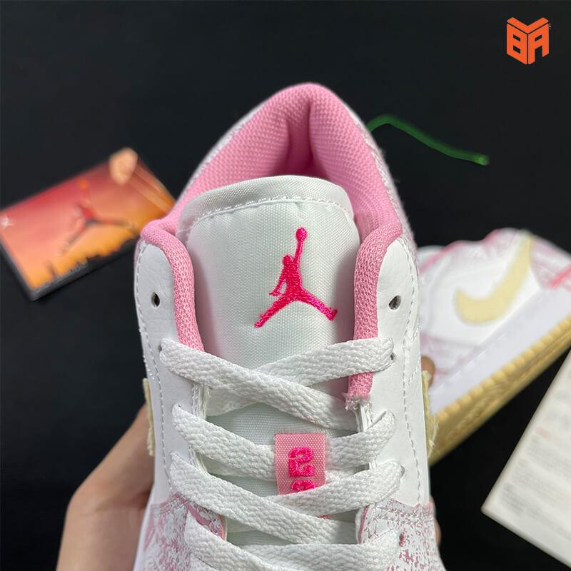 Air Jordan 1 Low Paint Drip - Mác