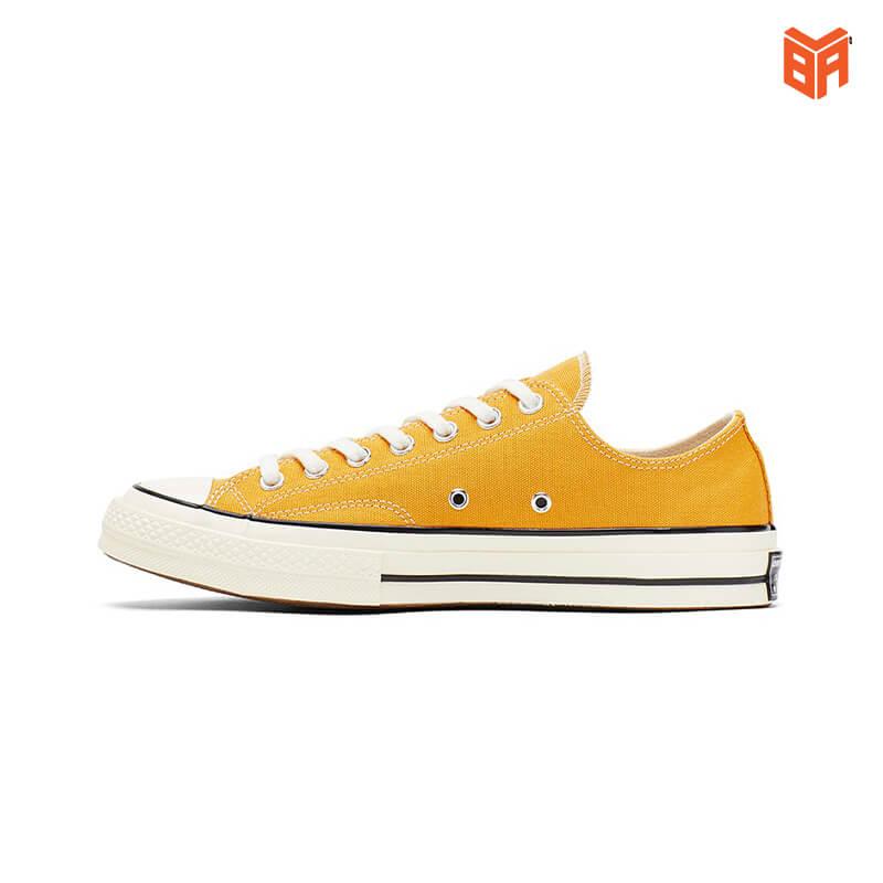 giày converse vàng cổ thấp