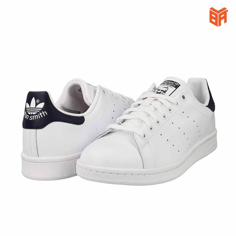 giày stan smith gót đen
