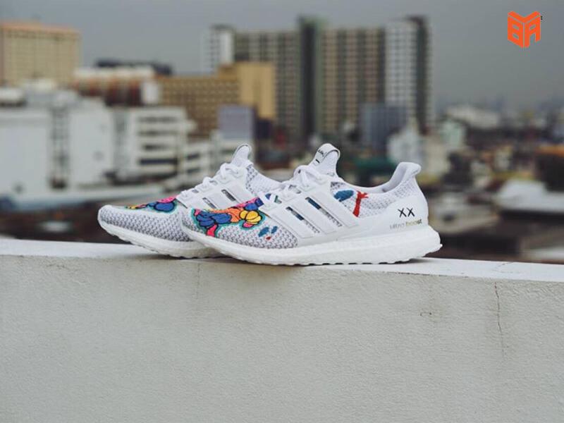 custom triple black ultra boost