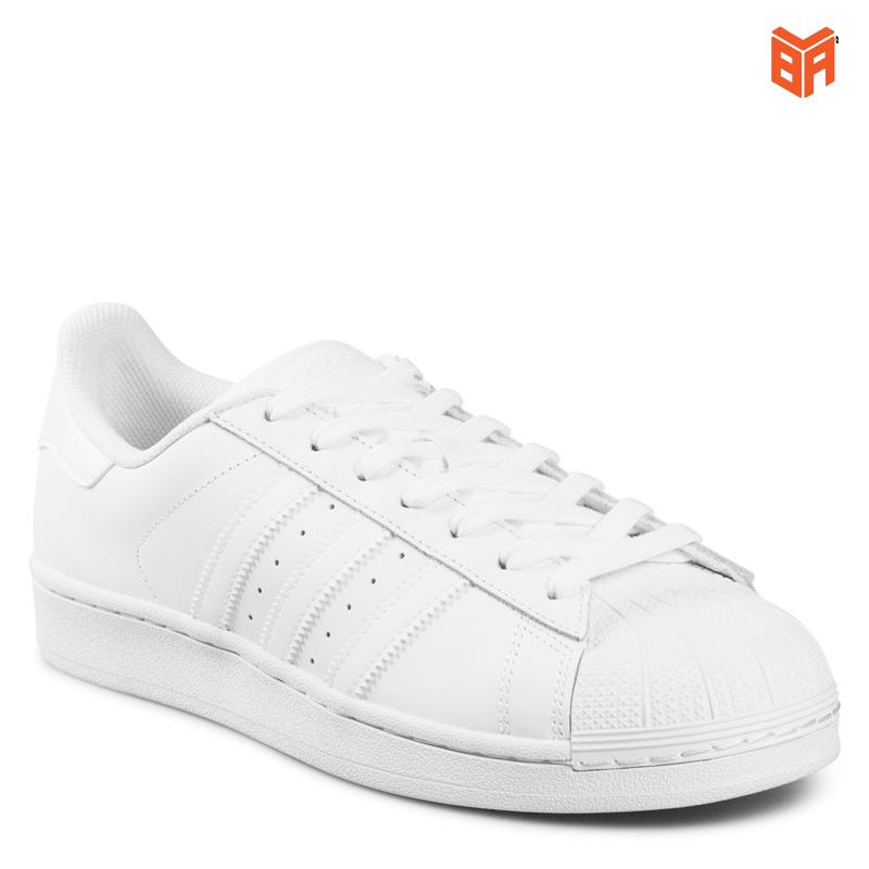 giày adidas superstar full trắng nam nữ