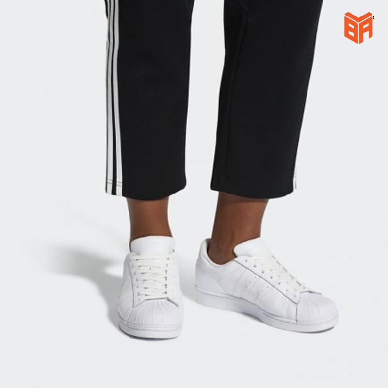 giày adidas nữ trắng superstar mới nhất