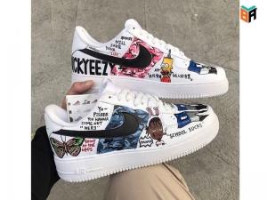 Cách custom giày Nike Air Force 1 để đôi giày nổi bật hơn