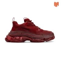 Giày Balenciaga Triple S Màu Đỏ