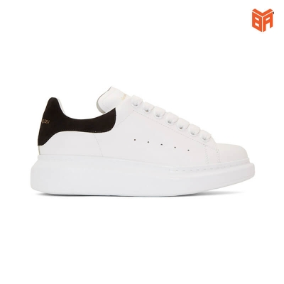 Giày Mcqueen gót đen
