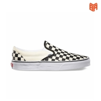 Vans slip on all white/ trắng