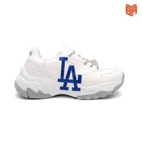 Giày MLB La Chunky Trắng xanh LA001580
