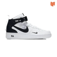 Giày Nike Air Force 1 Mid Utility White Black