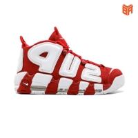 Giày Nike Air More Uptempo Supreme Đỏ Trắng (Rep 1:1)