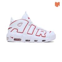 Giày Nike More Uptempo Trắng Viền Đỏ