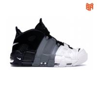 Giày Nike Air More Uptempo 96 Đen Xám Trắng (Rep 1:1)