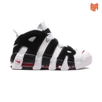 Giày Nike Air Uptempo Black And White/Trắng Đen (Rep 1:1)