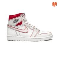Giày Nike Jordan 1 Retro High Phantom Gym Red/Trắng Đỏ (Rep1:1)
