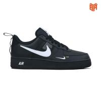 Giày Nike Air Force 1 Utility Black/ Đen (Rep1:)
