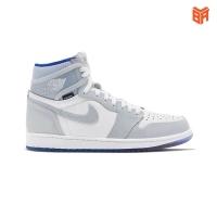 Jordan 1 Retro High Zoom White Racer Blue/Trắng Xanh
