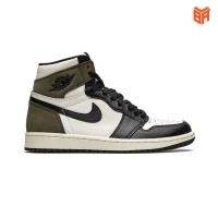 Giày Nike Jordan 1 Dark Mocha/Nâu Đen (Rep1:1)