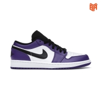 Giày Nike Air Jordan 1 Low Court Purple Black (Rep 1:1)