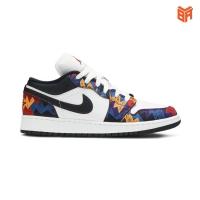 Giày Nike Air Jordan 1 Low Nothing But Net/Thổ Cẩm (Rep 11)