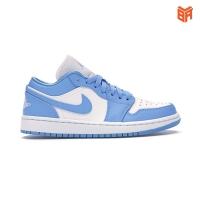 Giày Nike Jordan 1 Low Unc Blue/Xanh Dương