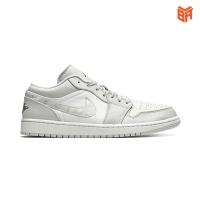 Giày Nike Air jordan 1 low camo/ Jordan 1 Low Xám Trắng